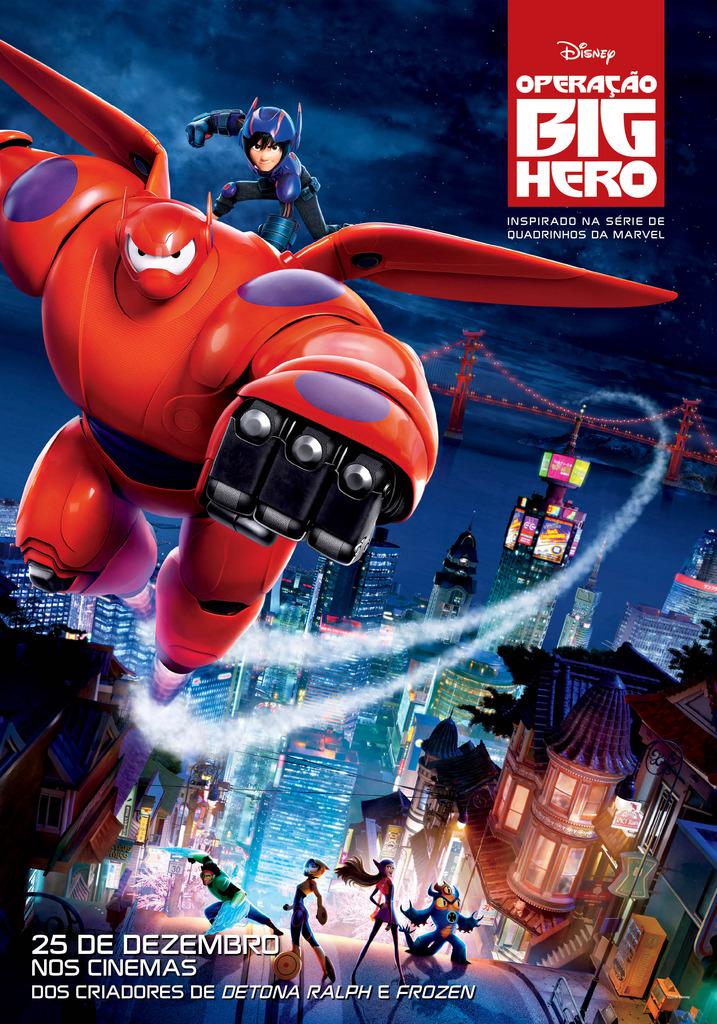 Poster do filme Operação big hero