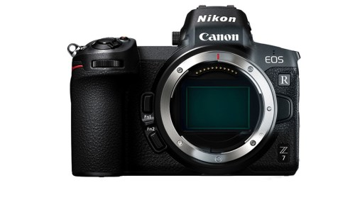 Medium Of Canon Mirrorless Camera