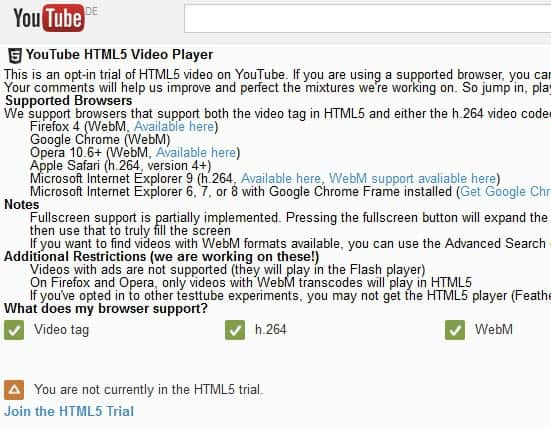 firefox youtube h264 support