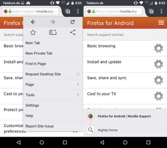 firefox 40 android