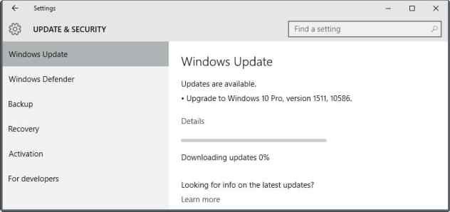 windows 10 update 1511 10586