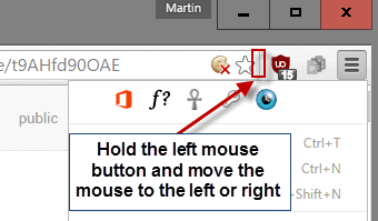 Cara menyembunyikan icon extension di toolbar Google Chrome
