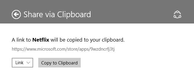 Cara Copy Windows 10 Share content ke Clipboard