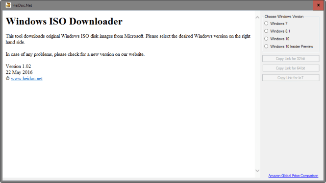 Review Windows ISO Downloader