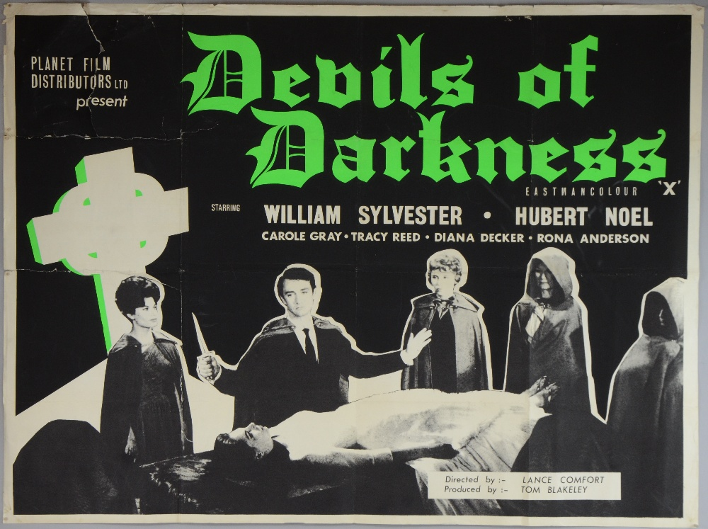 Poster do filme Devils of Darkness