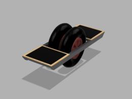 Wheelbarrow board (WeeBeeboard)