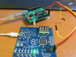 HDL training board by FPGA for real beginner