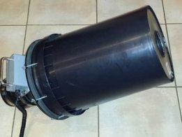 Vortex cannon using capacitor discharge
