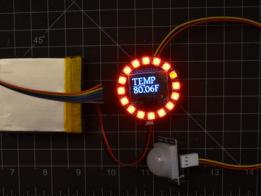 NeoPixel Temperature Display