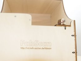 Fabscan PI - Open Source web-enabled 3D Scanner