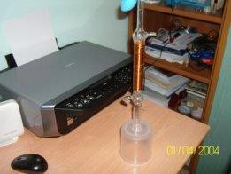 Atomic Hydrogen as water Heater