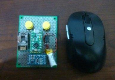 Wireless Batteryless Mouse