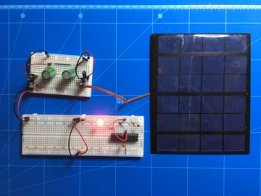 Solar & supercap charged IoT device