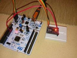 STM32F030F4P6 breakout board