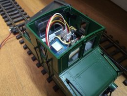 Remote control of G-gage train model by ESP8266