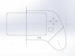 Raspberry Pi Game Pad Enclosure Case