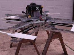 Goliath - A Gas Powered Quadcopter
