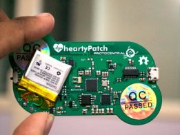 HeartyPatch: A single-lead ECG-HR patch with ESP32