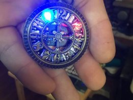 Neopixel pocket watch