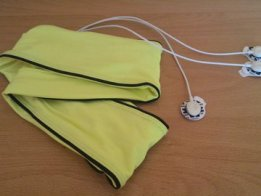 eCiGee, a cardio-belt