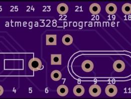 Atmega328 programmer/ftdi backpack board