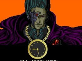 All your base are belong to us clock