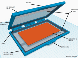 Tonerless PCB Templates for UV Exposure