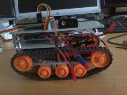 Browser-Controlled Tracked Robot