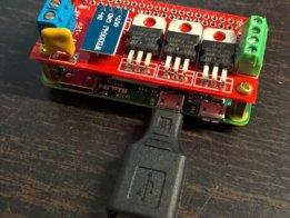 Raspberry Pi Zero Ledstrip Controller