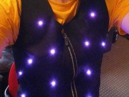 WS2812 LED jacket