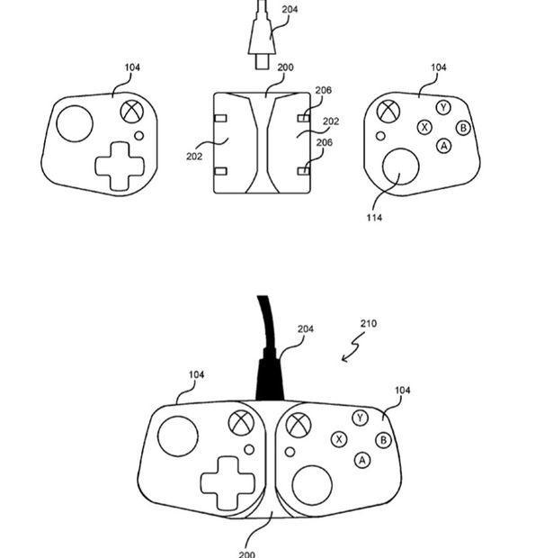 Patente control Xbox
