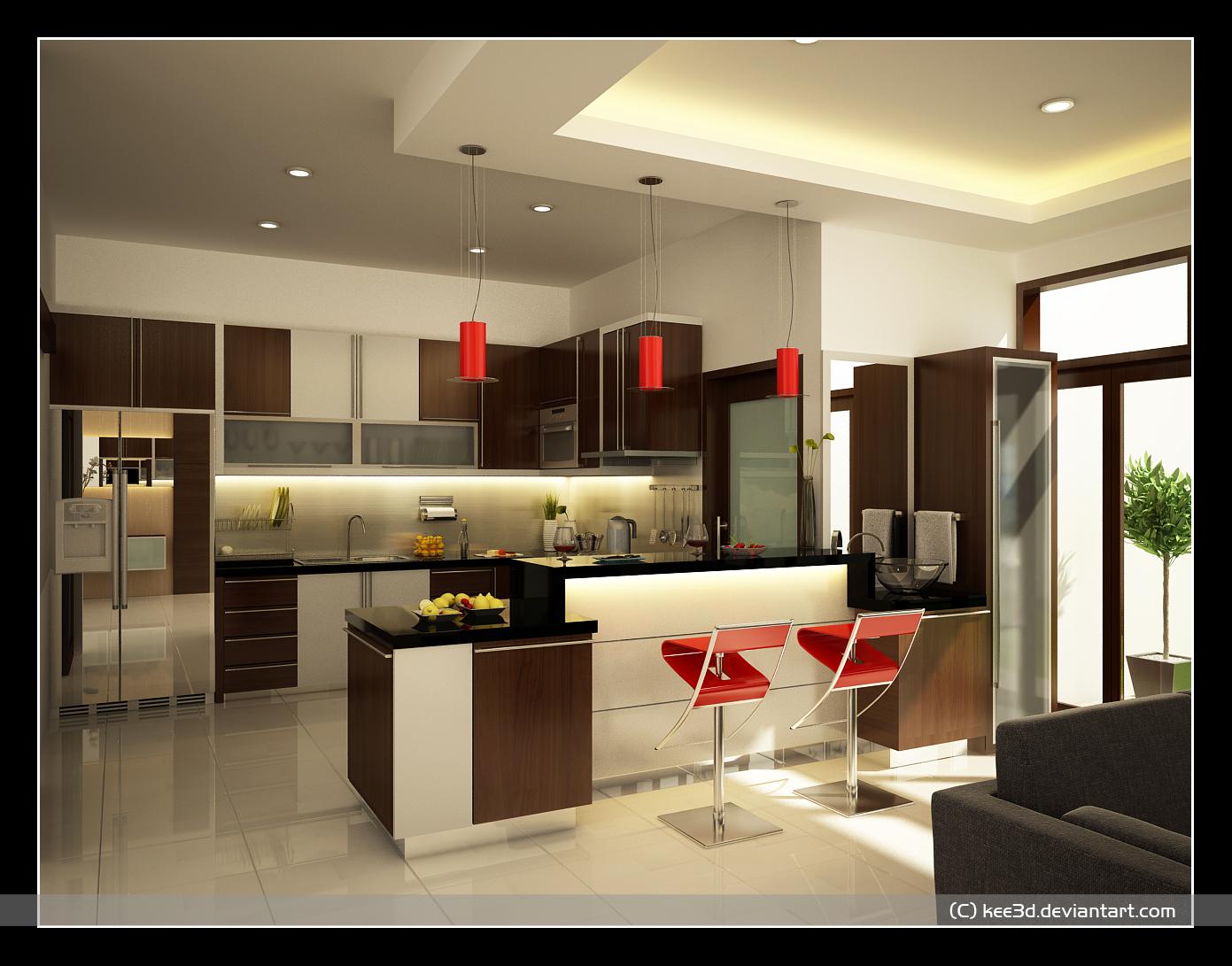 kitchen design ideas set 2 kitchen designers by Octo Brilian