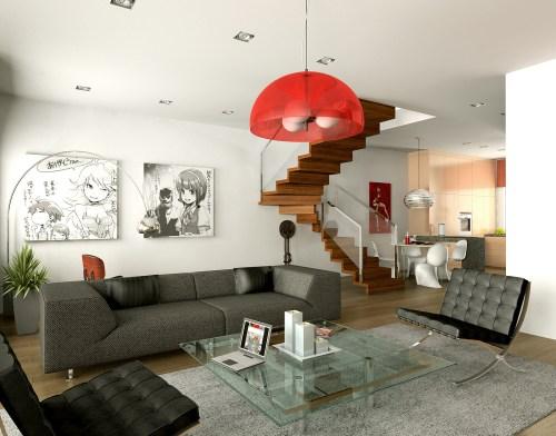 Medium Of Decorating Ideas For Living Room