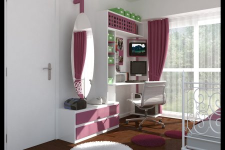 teen bedroom by architecture digital