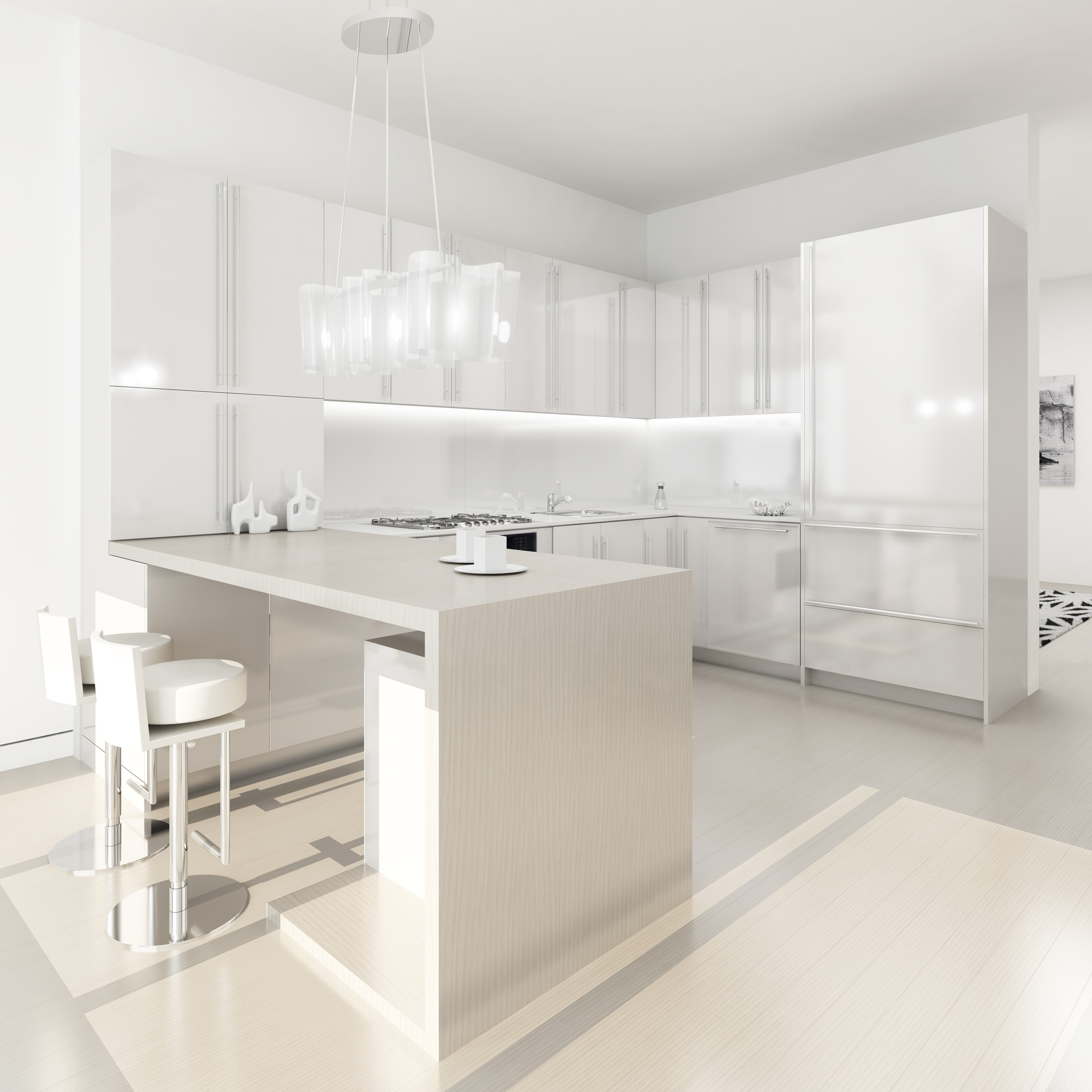 white kitchens white kitchen designs Via apartment therapy