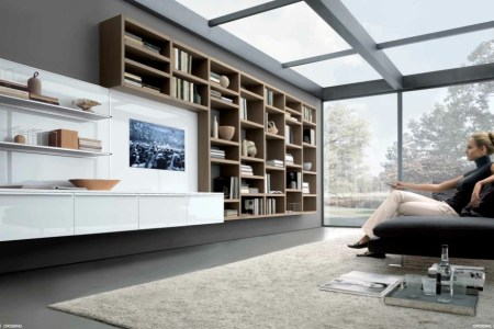beech white grey contemporary living spaces