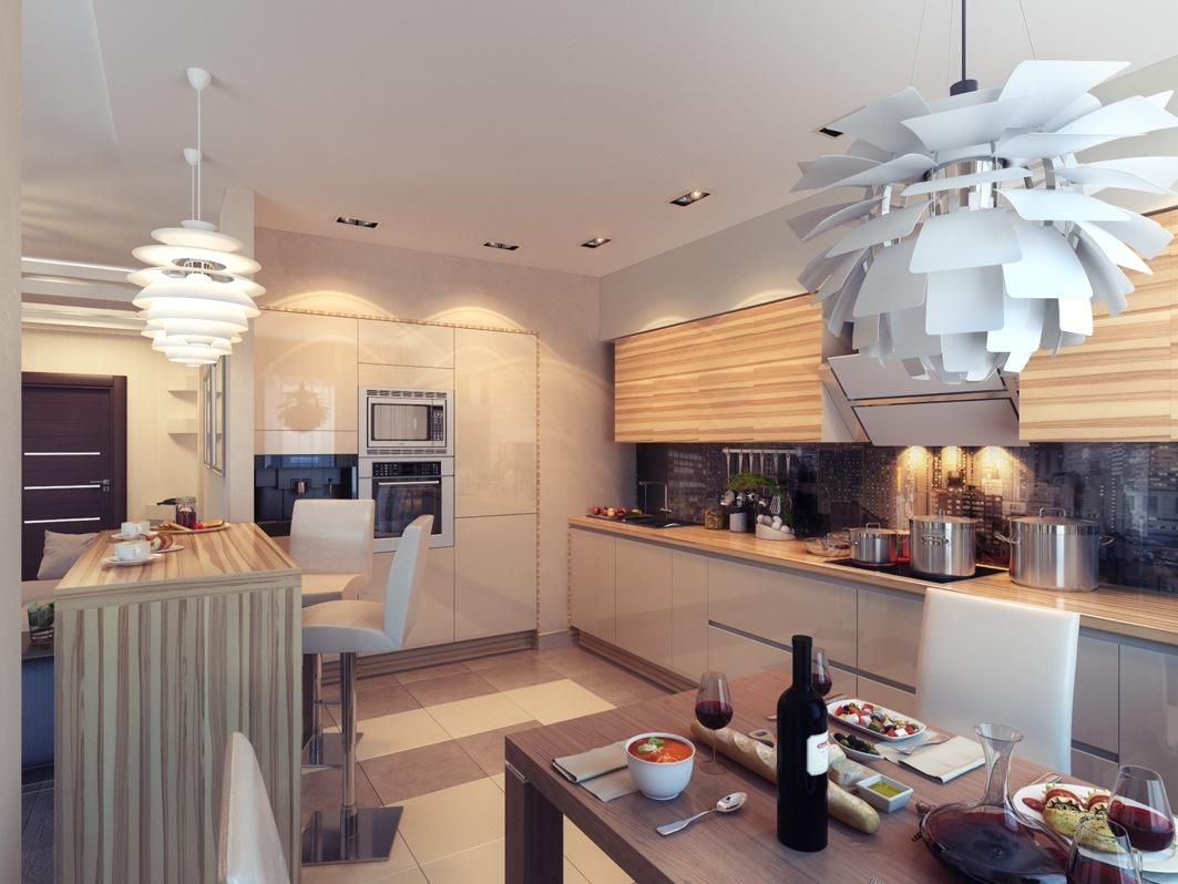 kitchen with ambient lighting kitchen lighting design Like Architecture Interior Design Follow Us