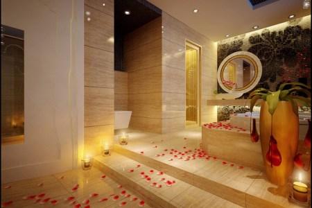 raised bathtub