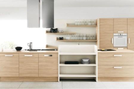 light wood cream kitchen