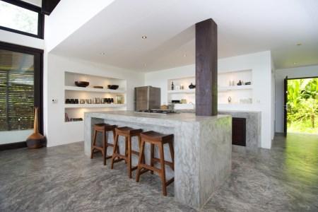 concrete kitchen island countertops