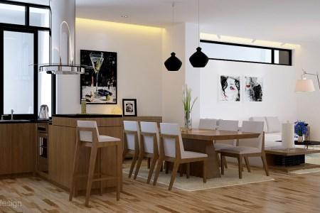 black white oak dining suite kitchn lounge