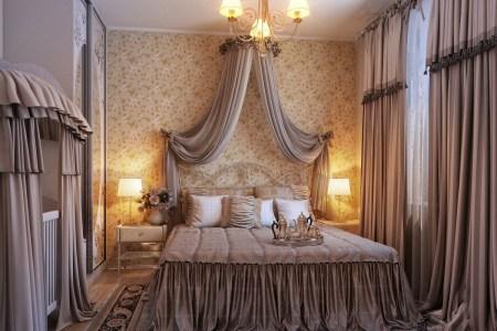 opulent romantic bedroom design