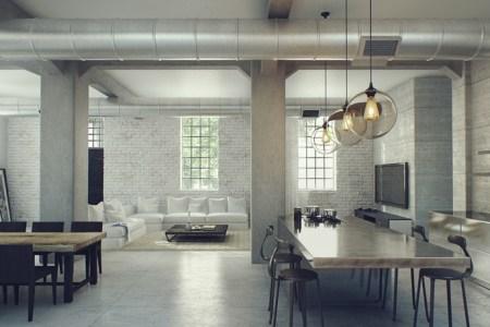 3 industrial loft design