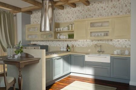 traditional kitchen fl motif 2