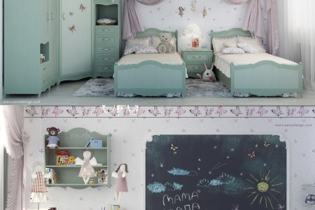 2 little girls bedroom 7