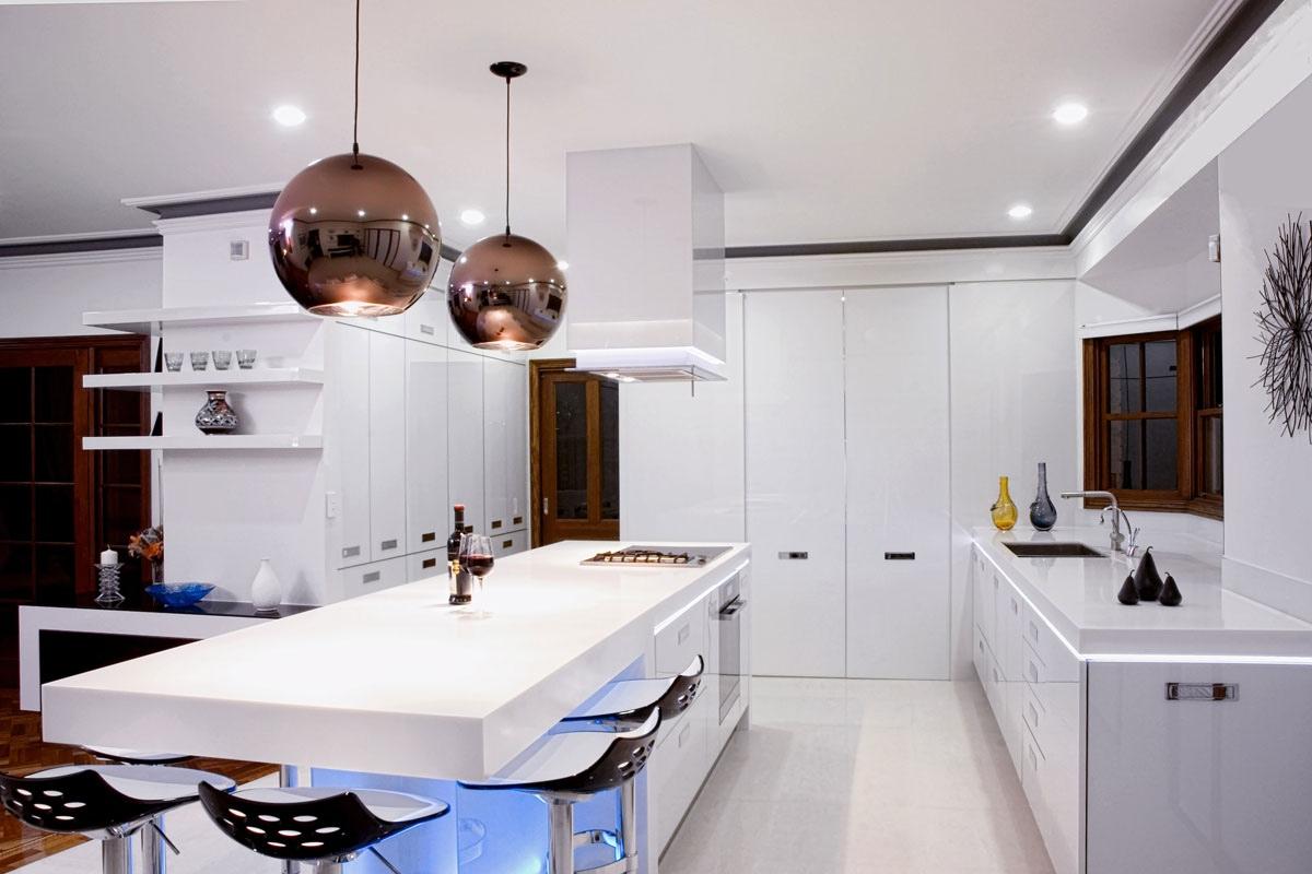 17 light filled modern kitchens by mal corboy lighting for kitchen