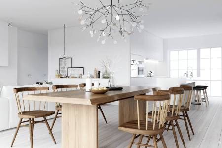 atdesign wooden dining nordic style