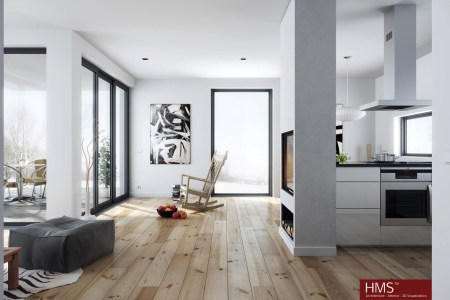 hoang minh nordic style living in wood and white
