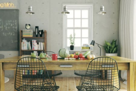 hoang minh warmly styled nordic kitchen
