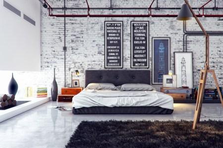 industrial bedroom 1